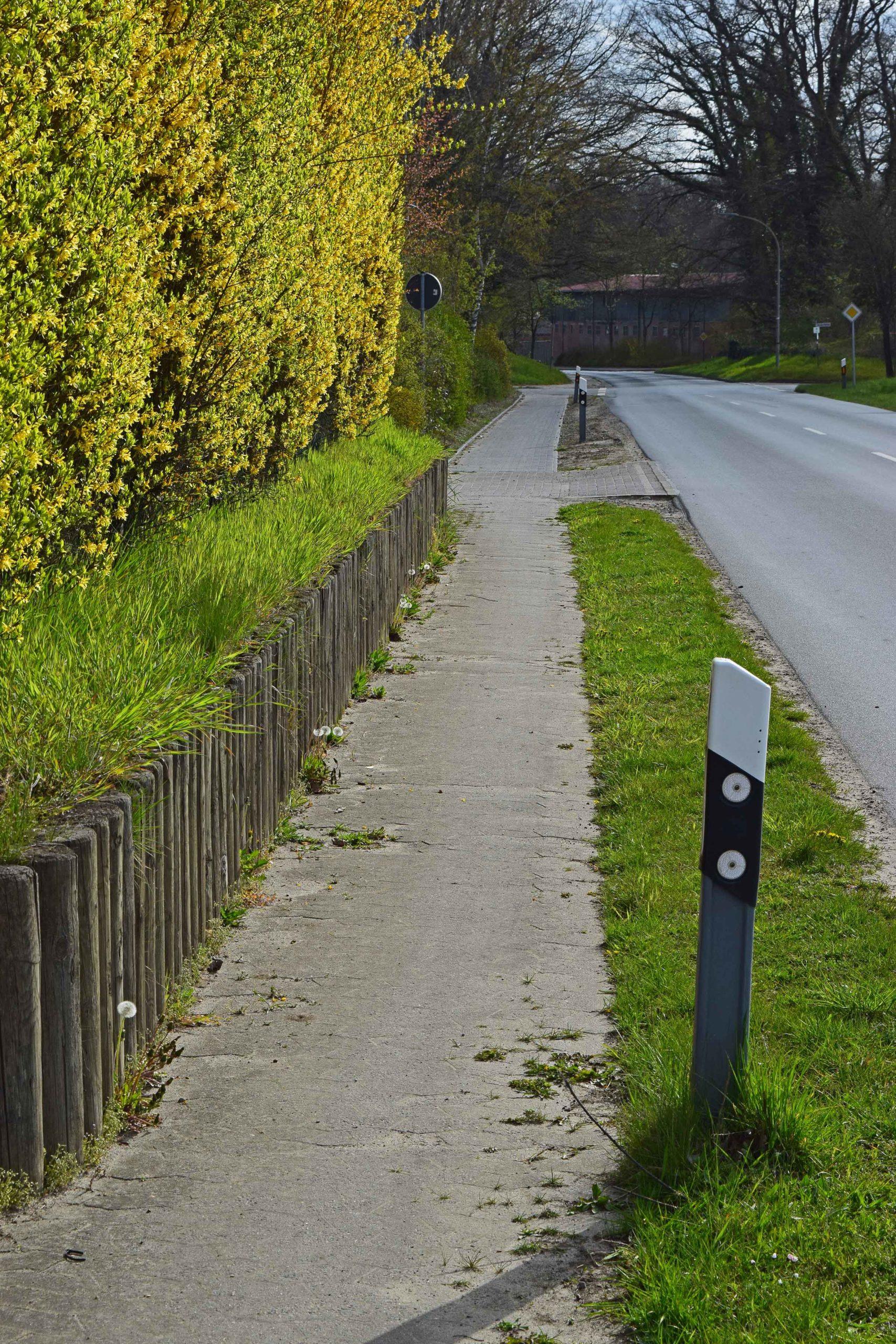 Fuß- und Radweg - Blumenstraße